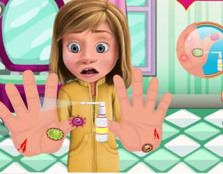 Game Inside Out Hands Doctor