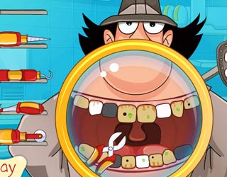 Game Inspector Gadget Teeth Care