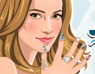Game Jennifer Lopez Nail Salon