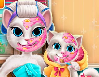 game Kitty Mommy Real Makeover