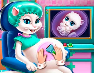 Game Talking Angela Pregnant Check-up