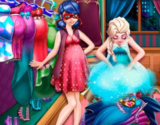 Game Ladybug And Elsa Pregnant Wardrobe