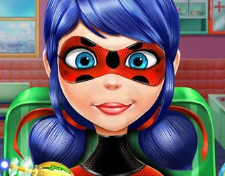 Game Ladybug Face Skin Surgery