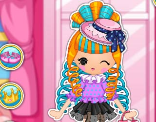 Game Lalaloopsy Girls Cinder Slippers
