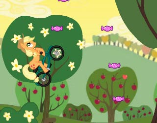 Game Little Pony Bike Racing