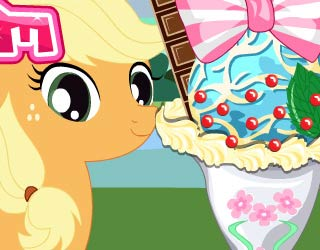 Game Little Pony Ice Cream
