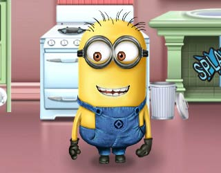 Game Minion Kitchen Makeover