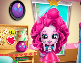 Game Minis Pinkie Pie Room Prep