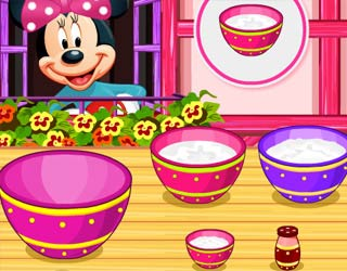 Game Minnie Mouse Cupcakes