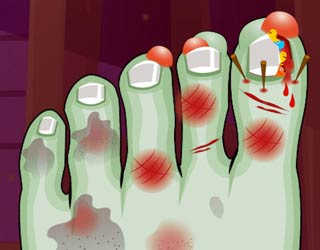 game Monster Foot Doctor
