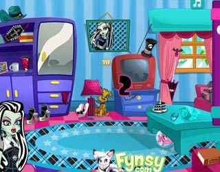 Game Monster High: Find Frankie's Stuff