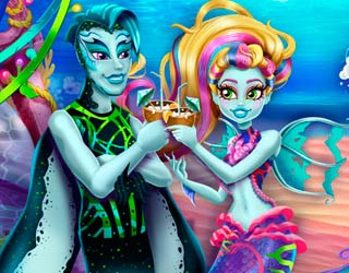 Game Monster High Ocean Celebration
