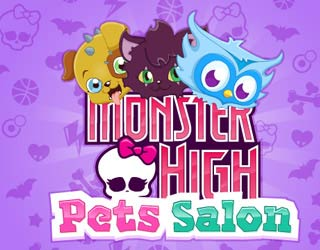 Game Monster High Pets Salon