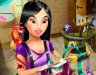 Game Mulan's Crafts
