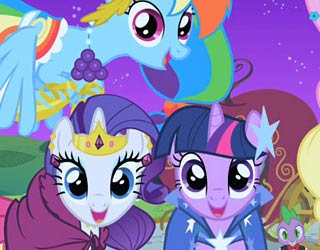 Game My Little Pony All Characters 2 Puzzle