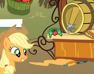 Game My Little Pony Find Applejack's Stuff