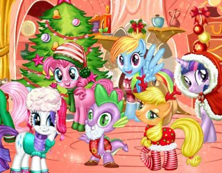 Game My Little Pony New Year Party