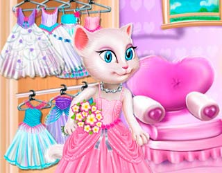 Game My Talking Angela: Wedding Day