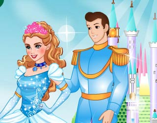 Game New Cinderella Ball Fashion