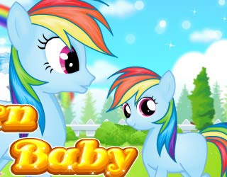 Game Newborn Baby Pony Princess
