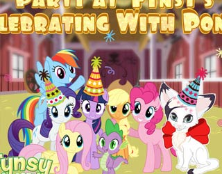 Game Party at Fynsy's: Celebrating With Ponies