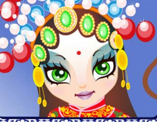Game Peking Opera Make Up