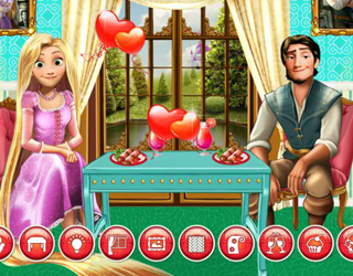 game Perfect date at Fynsy's Rapunzel and Flynn