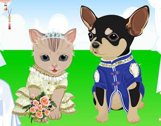 Game Pet Wedding Dress Up