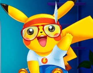 Game Pikachu Doctor and Dress Up