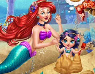 Game Play Ariel Baby Wash