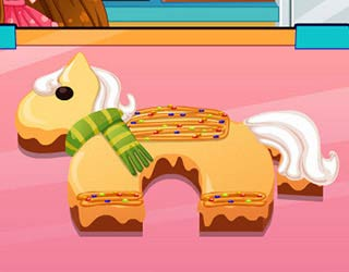 Game Pony Birthday Cake