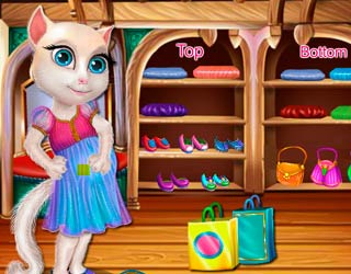 Game Pregnant Talking Angela Shopping