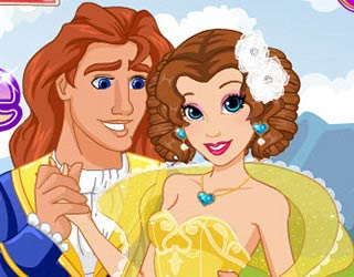 Game Princess Belle New Haircuts