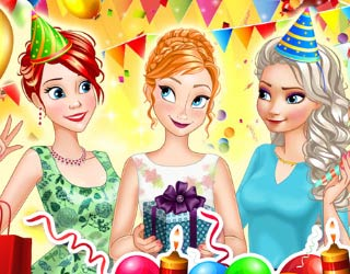 game Princess Birthday Party Surprise