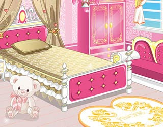 Play Free Princess Cutesy Room Decoration