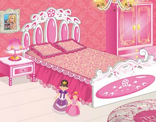 Game Princess Cutesy Room Decoration
