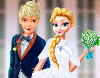 Game Princess Elsa Dream Wedding