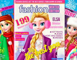 game Princess Magazine Winter Edition