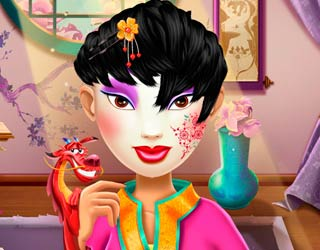 Game Princess Mulan Real Haircuts