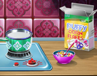 Game Princess Rapunzel Toddler Feed