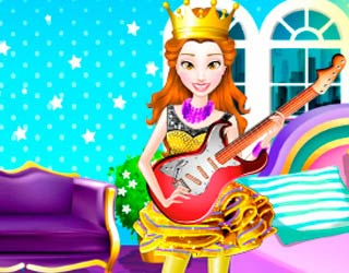 Game Princess Rock Star Party