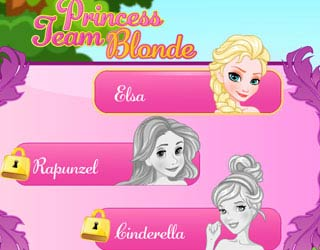 Game Princess Team Blonde