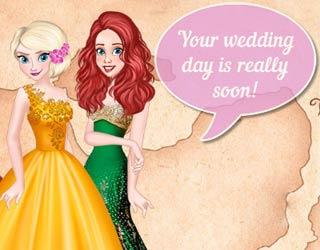Game Princess Wedding Around The World