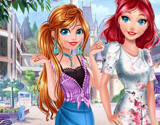 Game Princesses City Trip