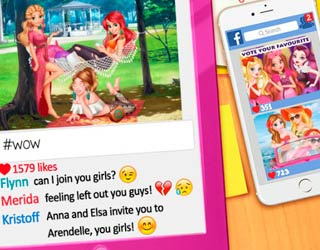 Game Princesses Instagram Rivals
