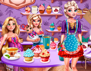 Game Princesses Tea Afternoon