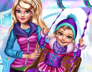 Game Princesses Winter Amusement