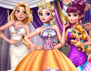 Game Princesses Winter Gala