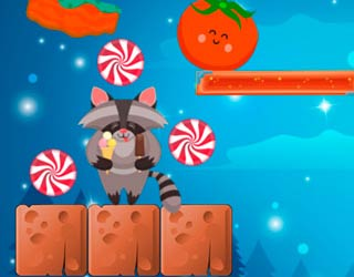 Game Raccoon Sweet Rush
