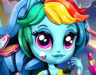 Game Rainbow Dash K Pop Fashion